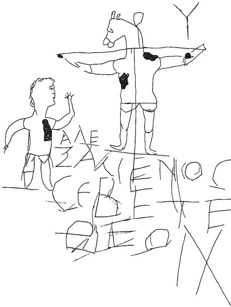 alexamenos-graffito